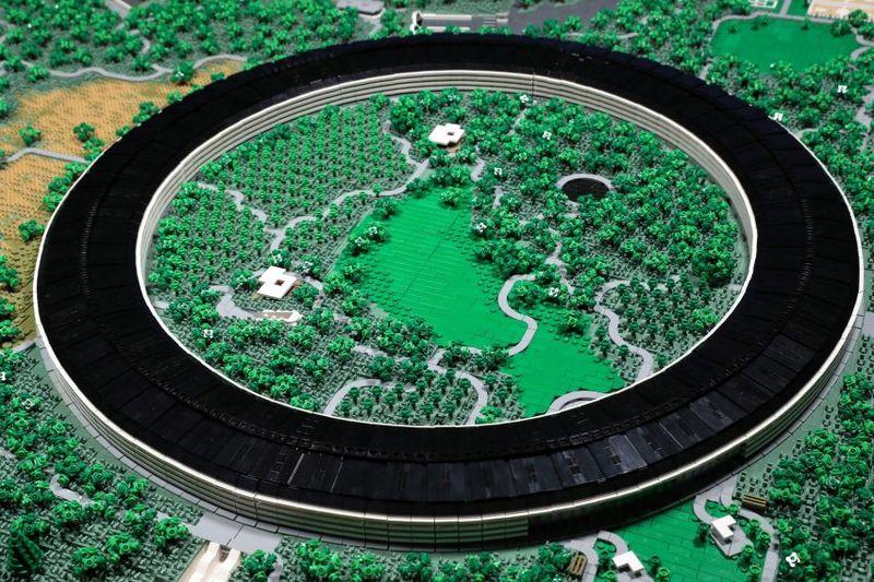 Apple Headquarters LEGO Models