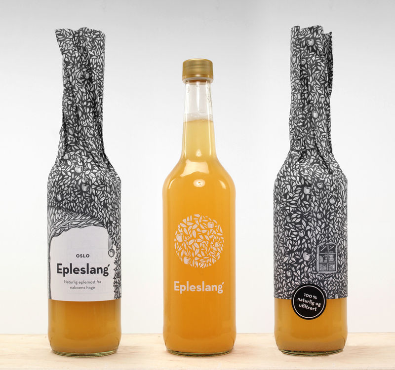 Botanical Juice Bottles
