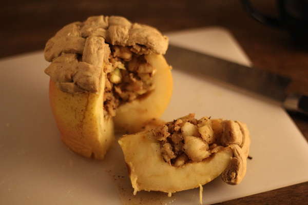 Literal Baked Apple Pastries
