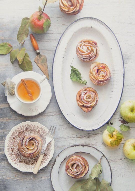 Delicate Apple Rosettes