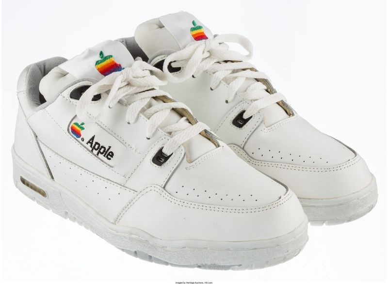 Retro Tech-Branded Shoes