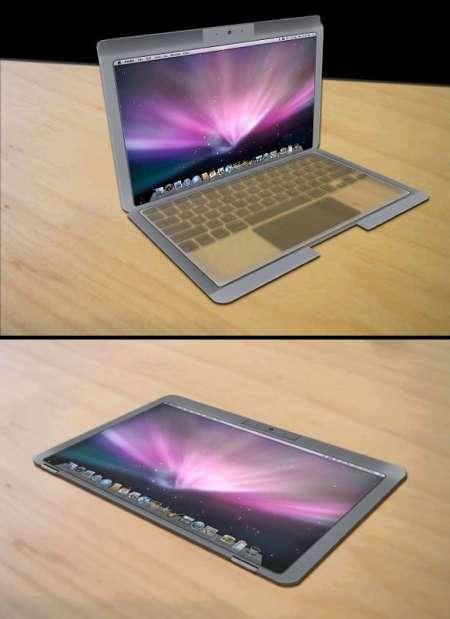 Transparent Apple Displays