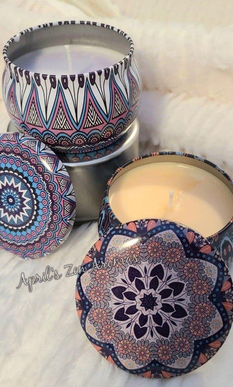 Tranquil Mandala Candles