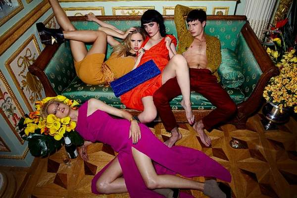 Disheveled Party Animal Campaigns