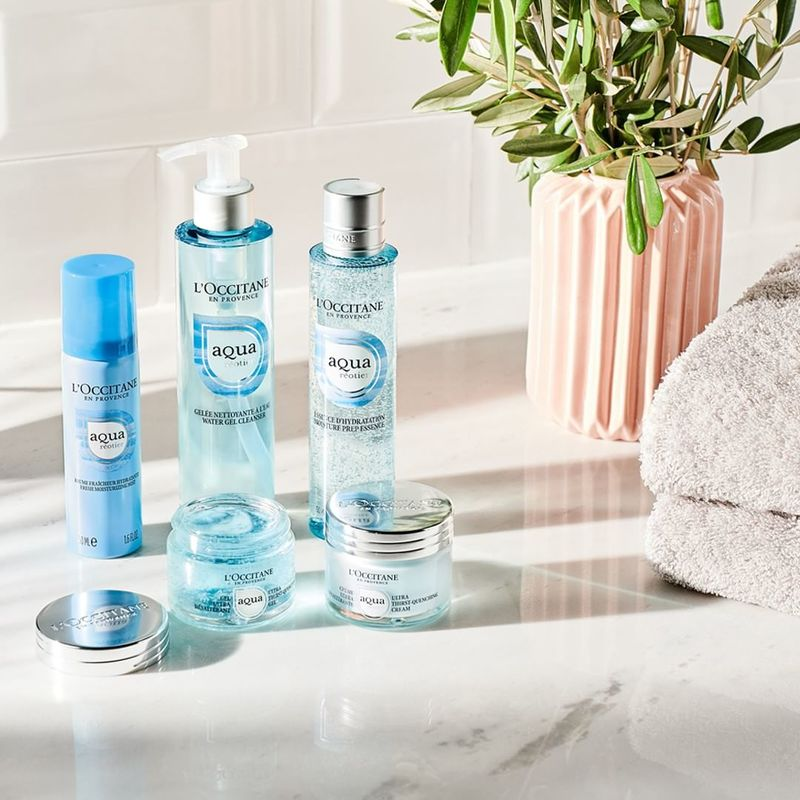 Spring Water-Based Skincare