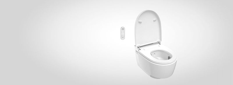 Wall-Mounted Shower Toilets