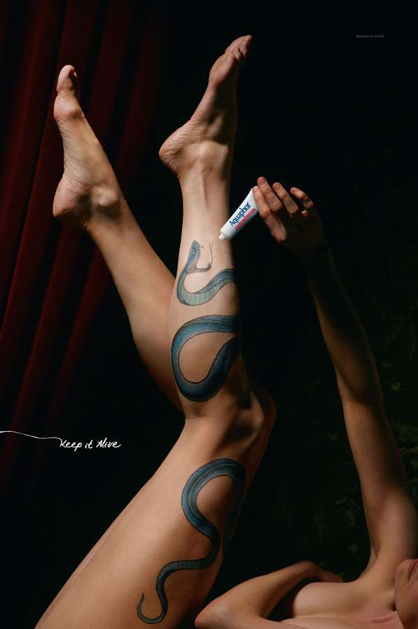 Artistic Tattoo Ads