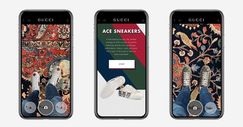 AR Luxury Sneaker Apps