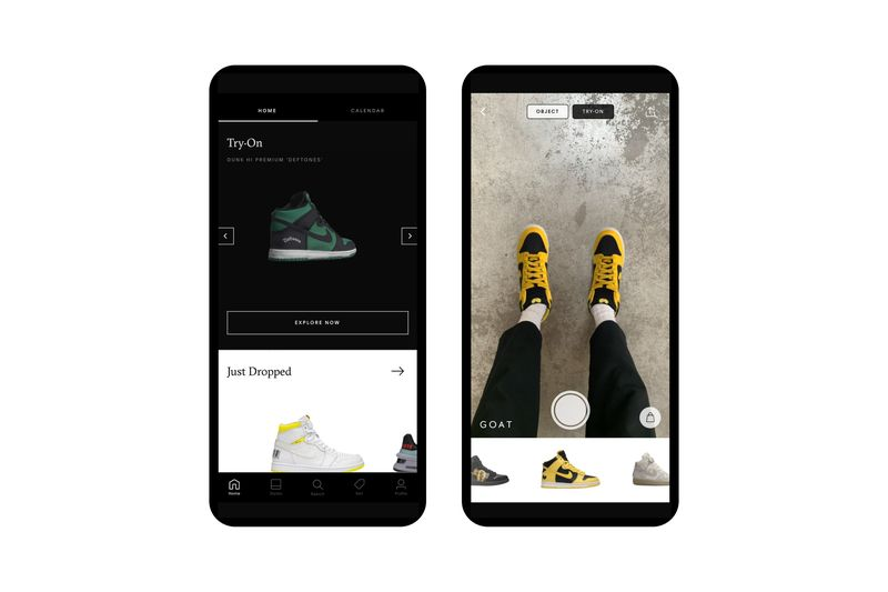AR Sneaker Try-Ons