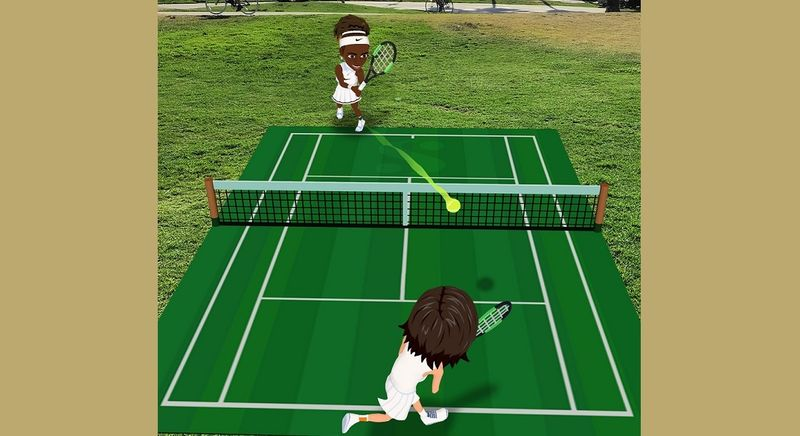 AR Tennis Match Games
