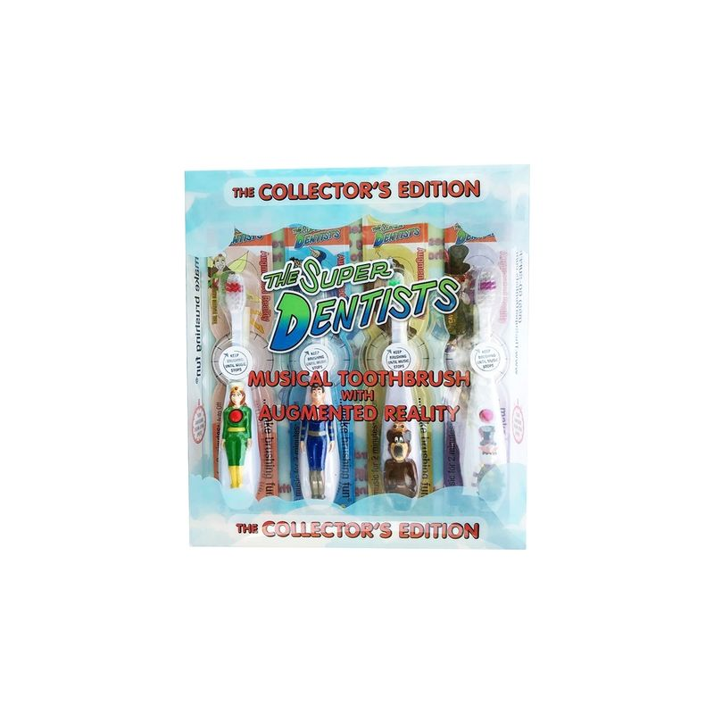 Collectible AR Toothbrushes