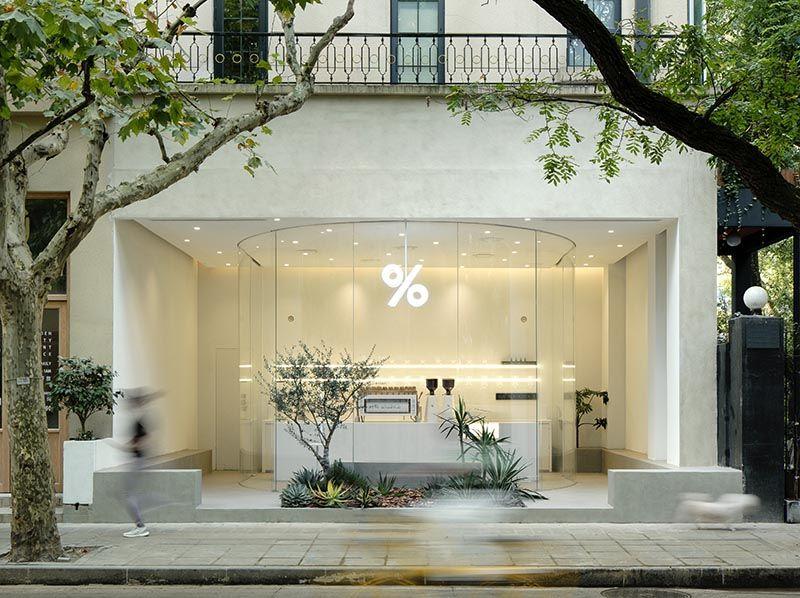Open-Concept Coffee Shops