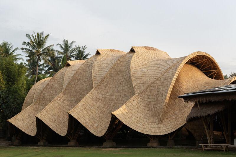 Undulating Bamboo-Based Schools