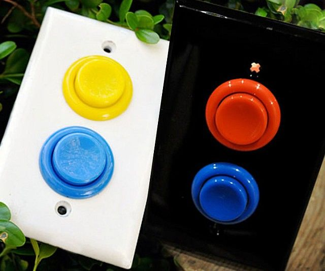 Video Game Light Switches