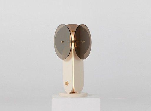 Elegant Glass-Paneled Lamps