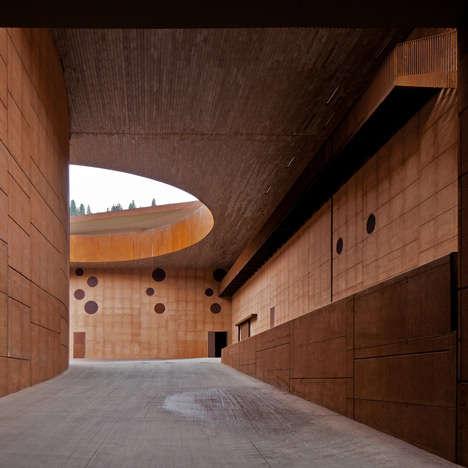Tomb-Inspired Wine Cellars