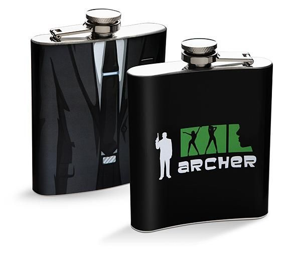 Animated Spy Flasks