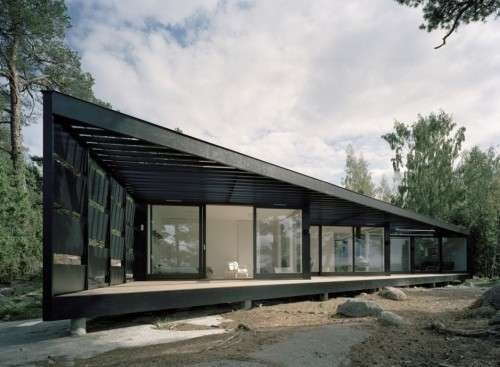 Angled Scandinavian Abodes