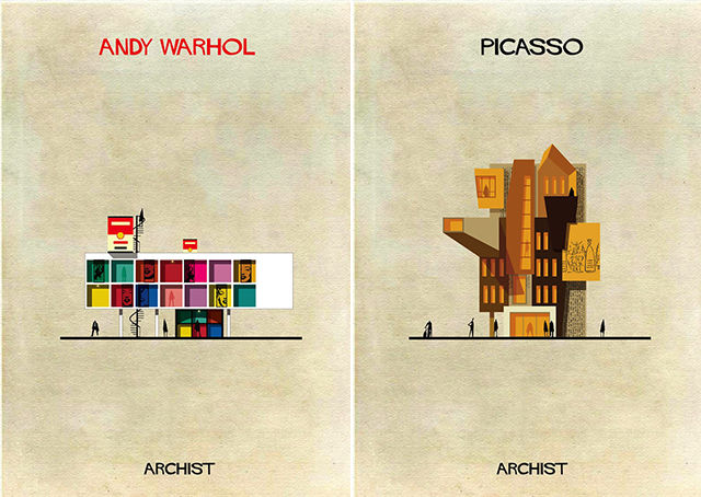 Artist-Inspired Architecture