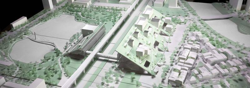 Slanted Architectural Museum Designs