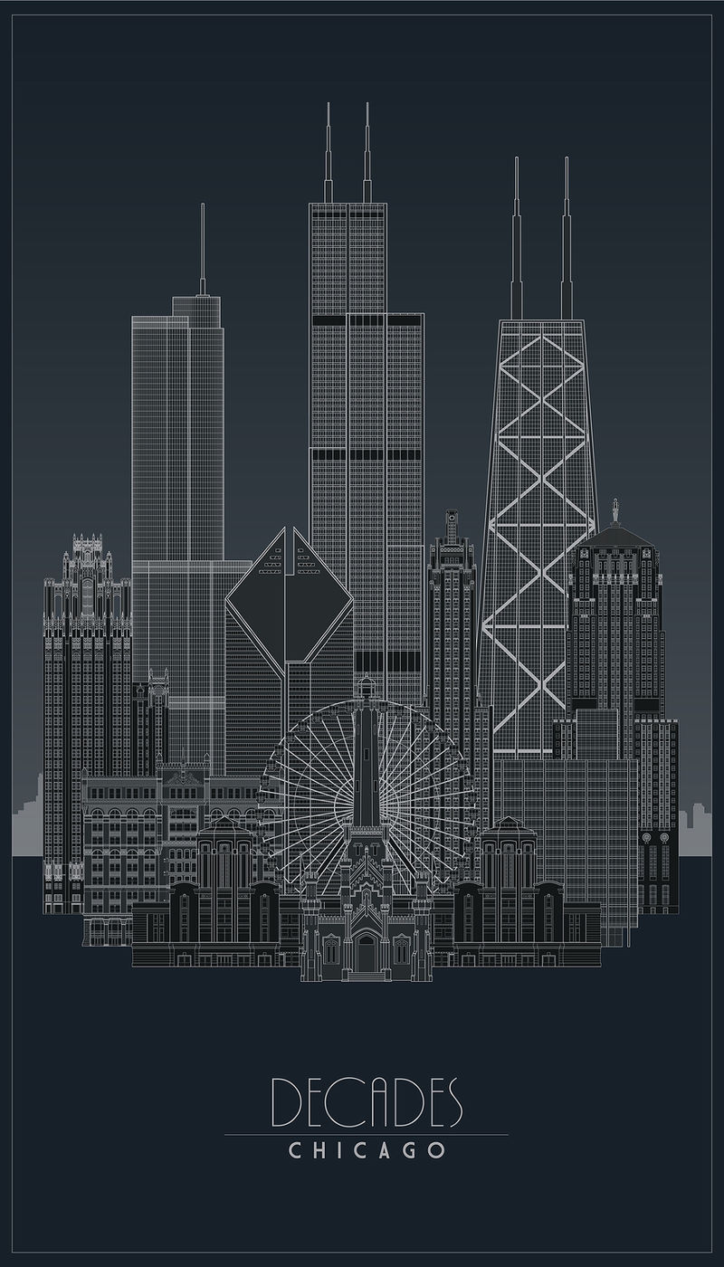 Metallic Architecture Posters
