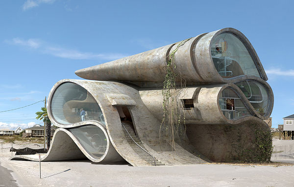 Surreal Apocalyptic Architecture