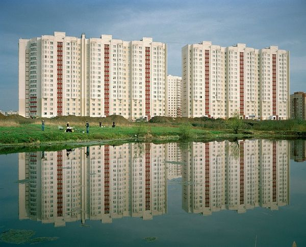 Soviet Suburb Photography