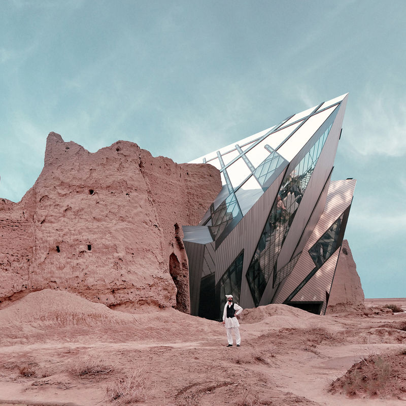 Stunning Architecture Photomontages