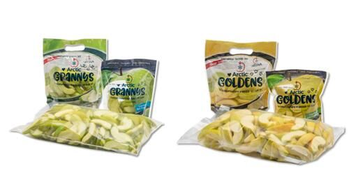 Prepackaged Pre-Sliced Apples