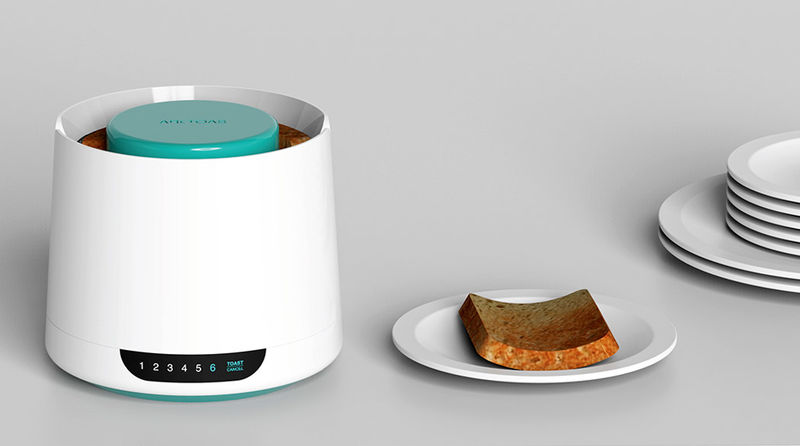 Curvaceous Kitchen Toasters
