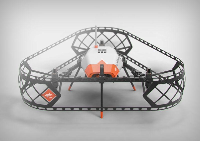 Terrain-Mapping Drones
