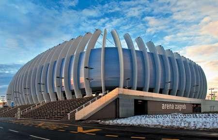 Ribbed Arenas Upi 2m S Award Winning Arena Zagreb In Croatia