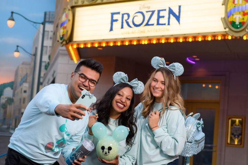Aqua-Colored Disney Treats