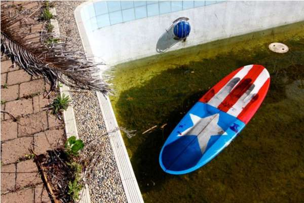 Captain America Surfboards
