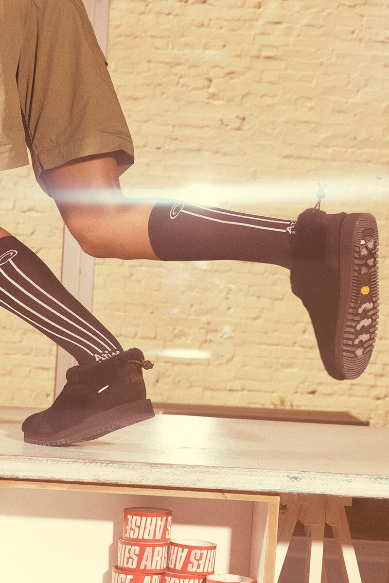 Furry Slip-On Boots