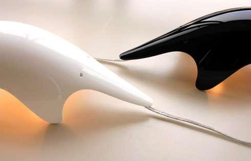 Long-Nosed Mammal Lamps