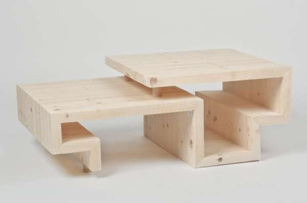 Meandering Timber Tables