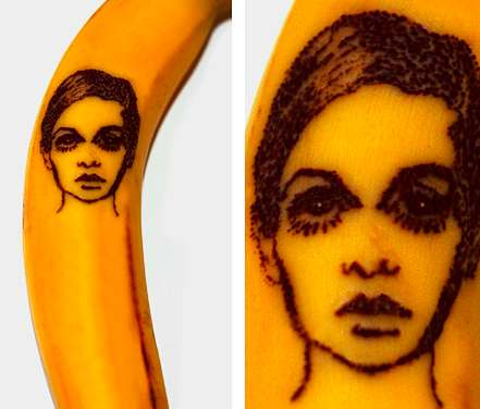 Pinned Fruit Portraits