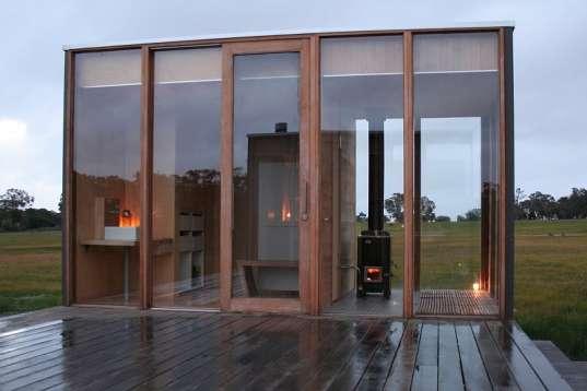 Glassy Off-the-Grid Villas