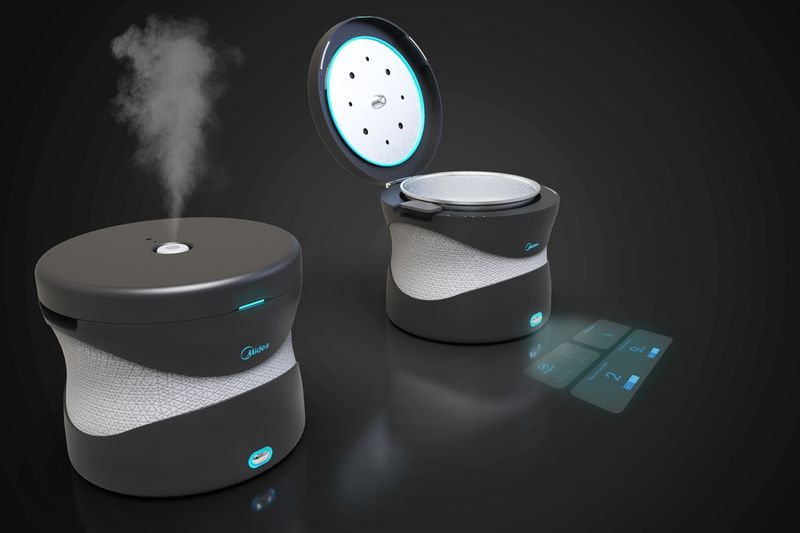 Holographic UI Cooking Appliances