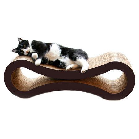 Curvilinear Feline Furnishings