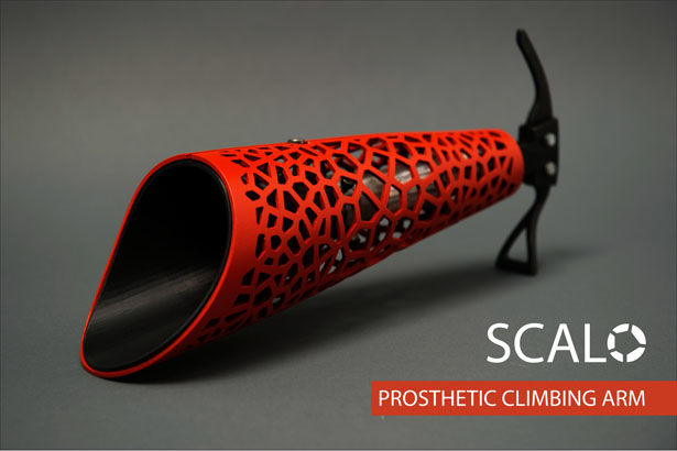 Rocking Climbing Prosthetics