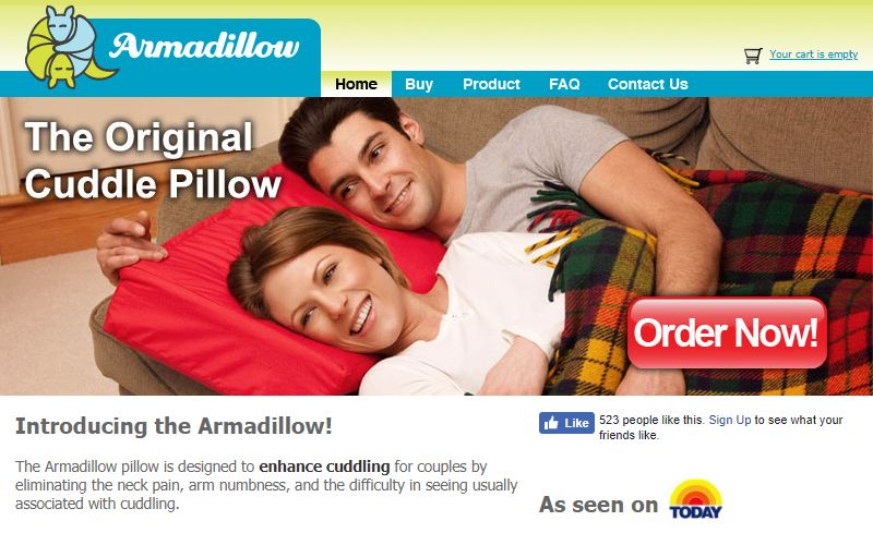 Cuddle-Enhancing Pillows