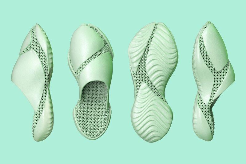Ergonomic 3D-Printed Footwear