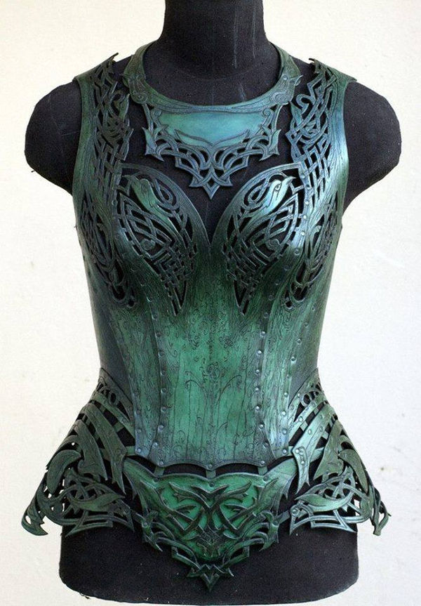 Battle-Ready Celtic Corsets