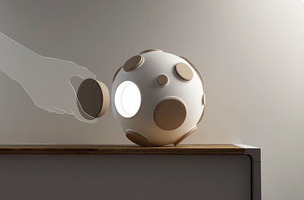 Interactive Lunar Lighting Armstrong Trap Lamp