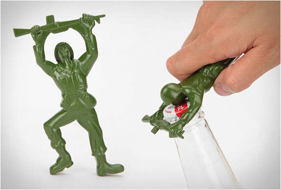 Military Man Bottle Poppers