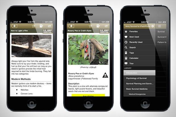 Wilderness Survival Apps