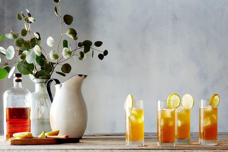 Summery Tea Cocktails