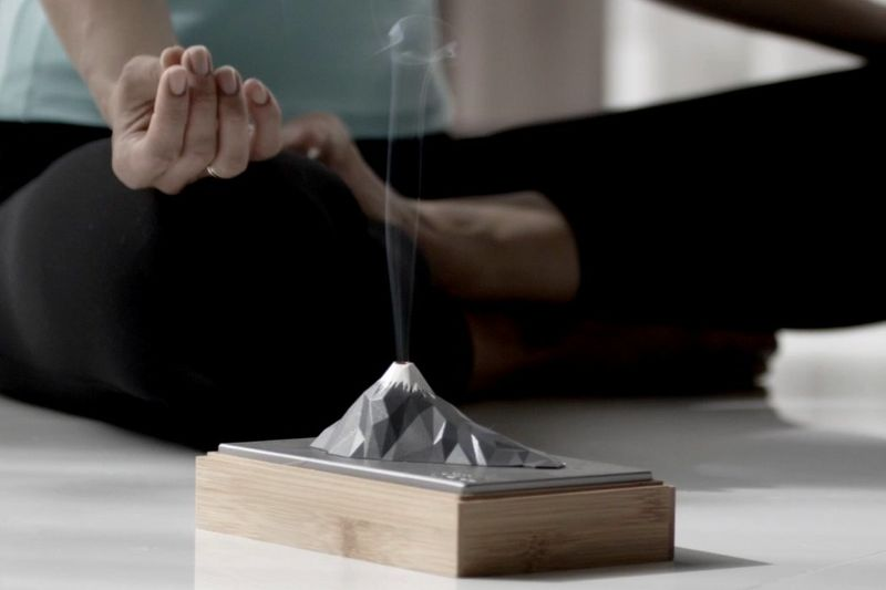 Relaxing Topographical Incense Holders